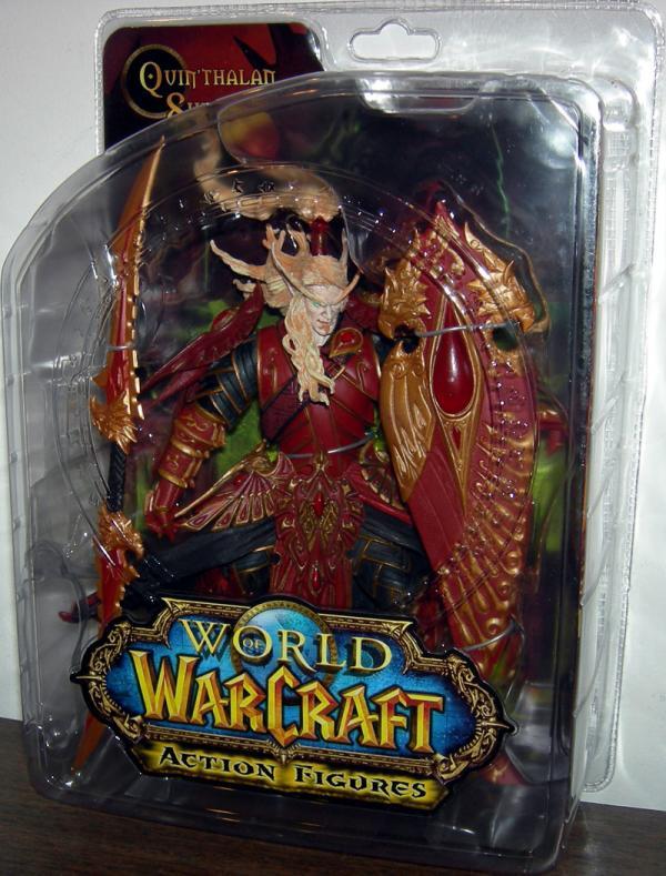 Blood Elf Paladin Quinthalan Sunfire action figure