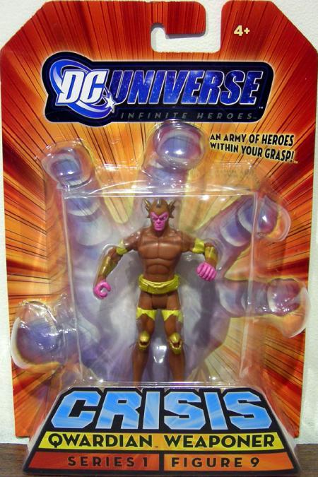 Qwardian Weaponer Infinite Heroes, figure 9