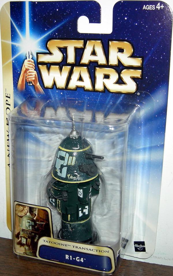 R1-G4 Tatooine Transaction Star Wars New Hope action figure