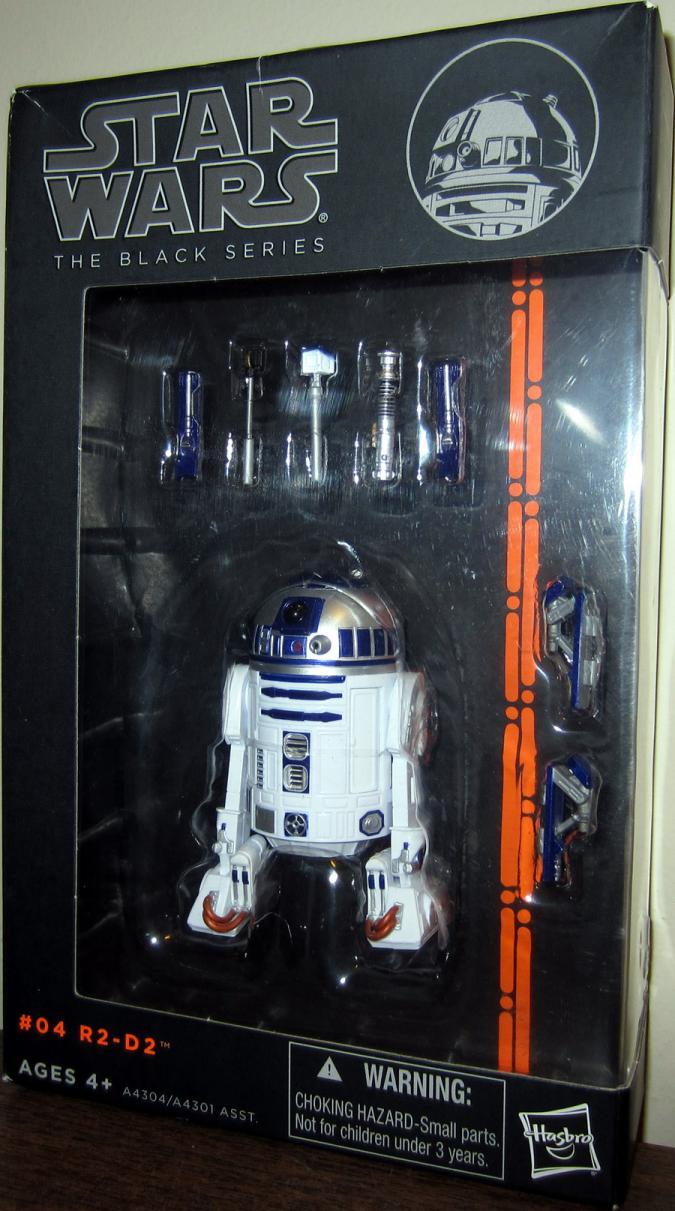 R2-D2 Action Figure Black Series 04 Star Wars Hasbro