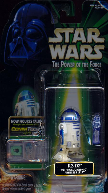 R2-D2 Holographic Princess Leia CommTech