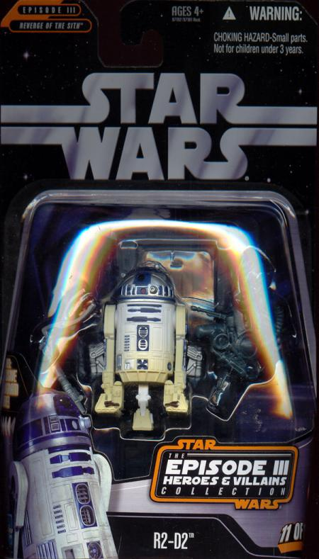 R2-D2 Episode III Heroes Villains Collection, 11 12