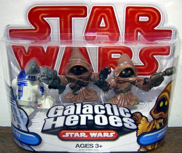 R2-D2 Jawas Galactic Heroes