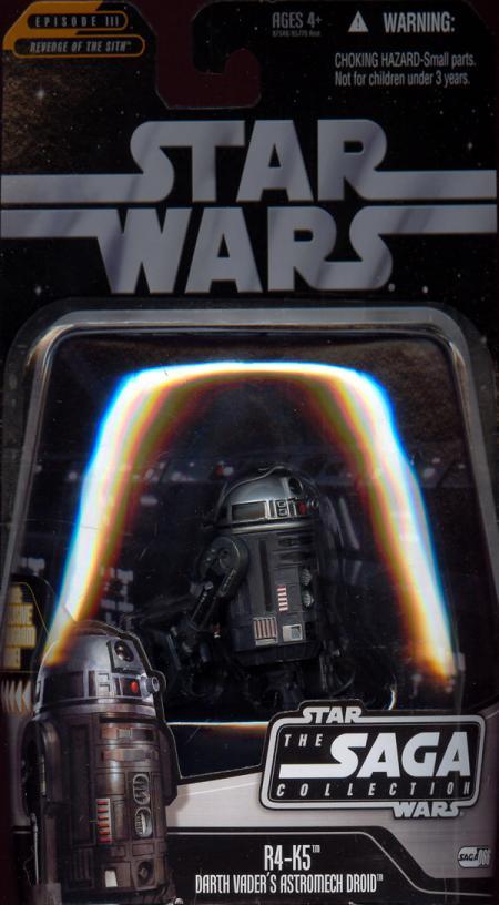 R4-K5 Figure Darth Vaders Astromech Droid Saga Collection 066