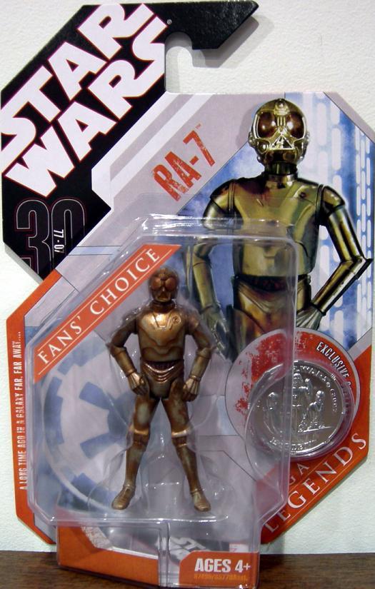 RA-7 Figure 30th Anniversary Star Wars Saga Legends Fans Choice