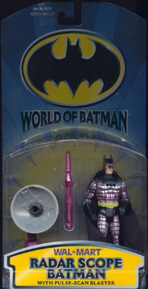 Radar Scope Batman WalMart Exclusive World action figure