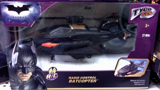 Radio Control Batcopter BatmanDark Knight vehicle