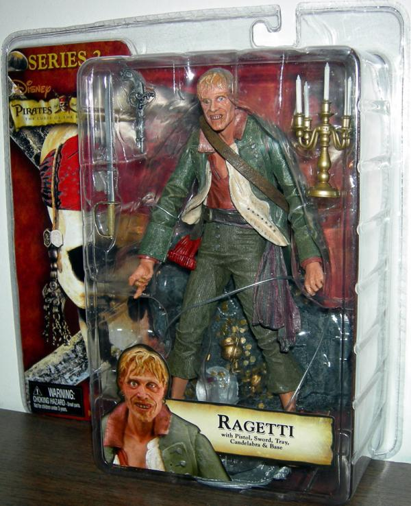 Ragetti Figure Curse Black Pearl Series 2 Pirates Caribbean