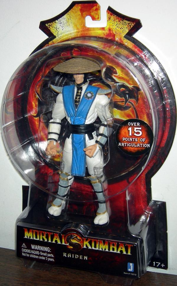 Raiden 2011 Action Figure Mortal Kombat Jazwares