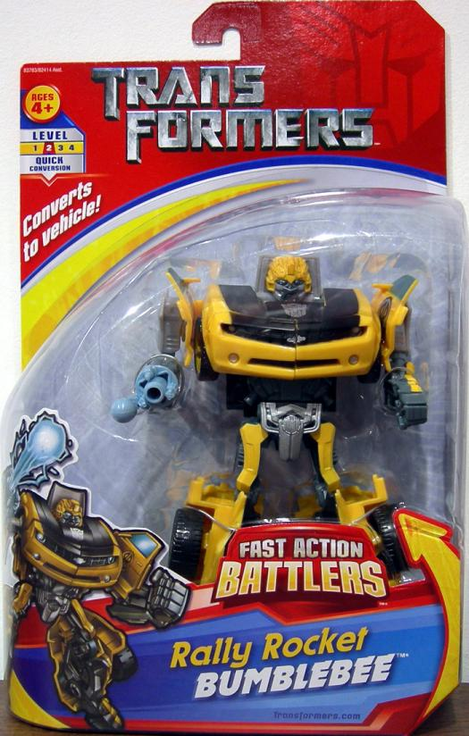 Rally Rocket Bumblebee Fast Action Battlers
