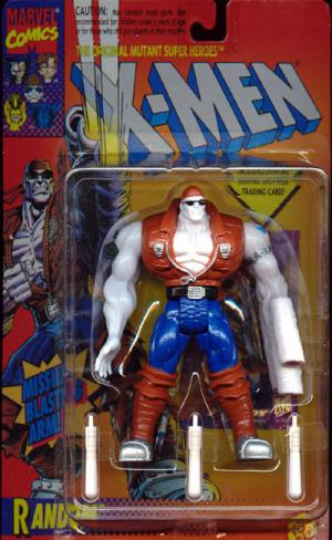 Random Action Figure X-Men Missile Blasting Arm Toy Biz