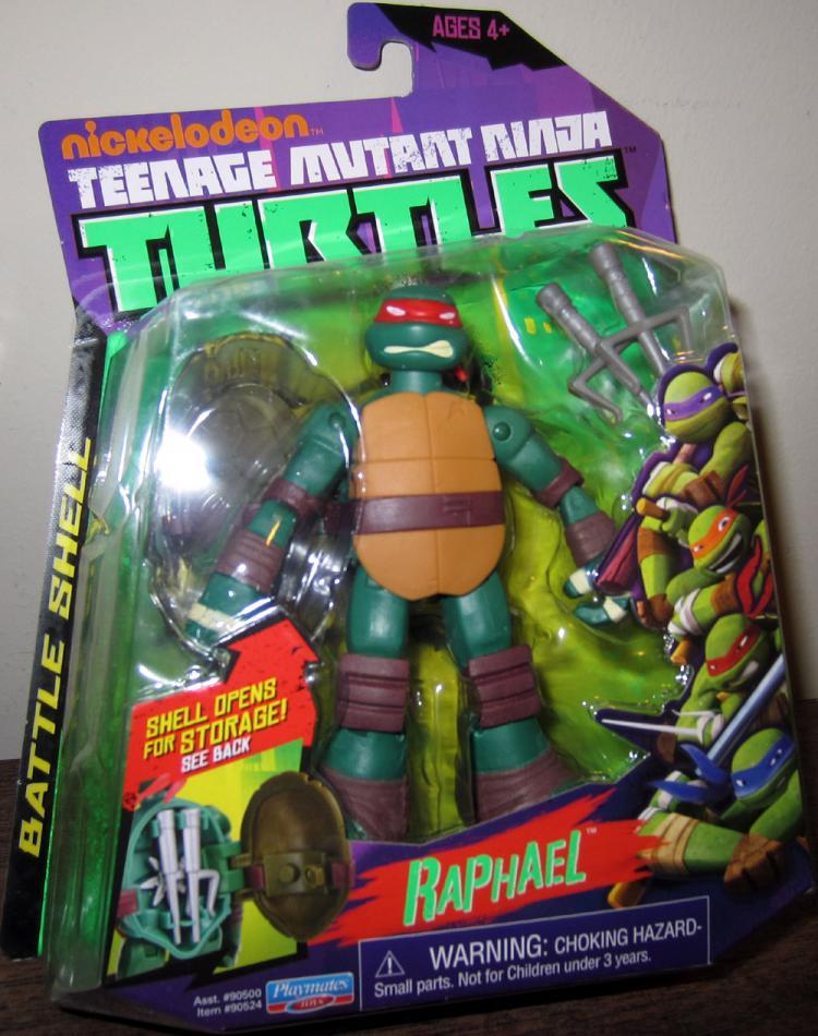 Raphael Battle Shell Nickelodeon Teenage Mutant Ninja Turtles action figure