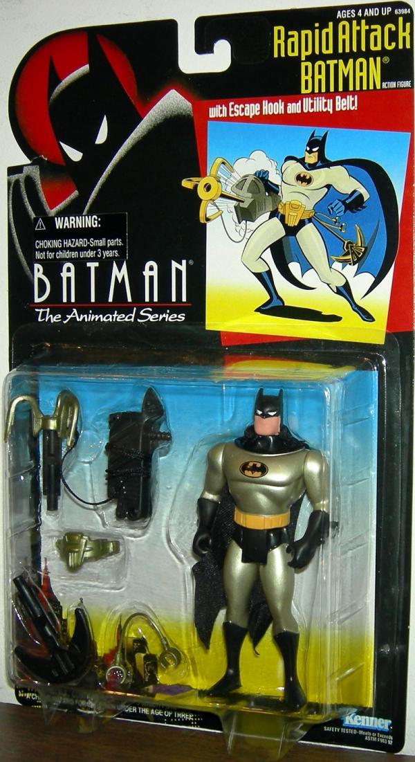 Rapid Attack Batman Batman Animated Series
