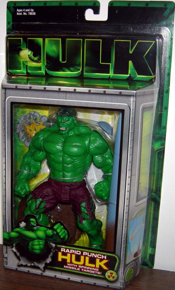 Rapid Punch Hulk movie