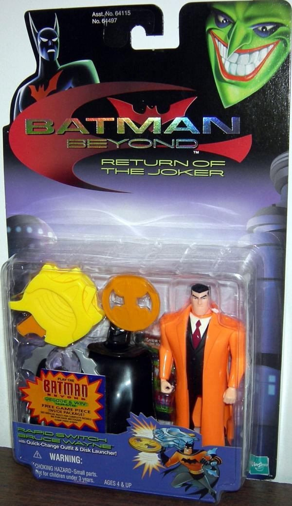 Rapid Switch Bruce Wayne Figure Batman Beyond