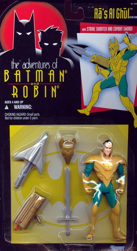 Ras Al Ghul Action Figure Adventures Batman Robin Kenner