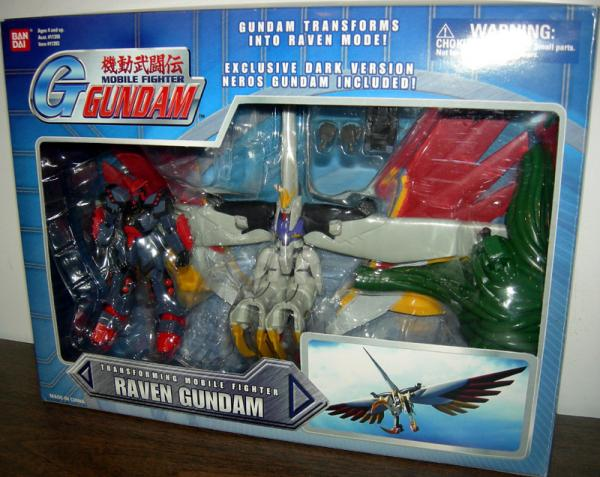 Raven Gundam boxed