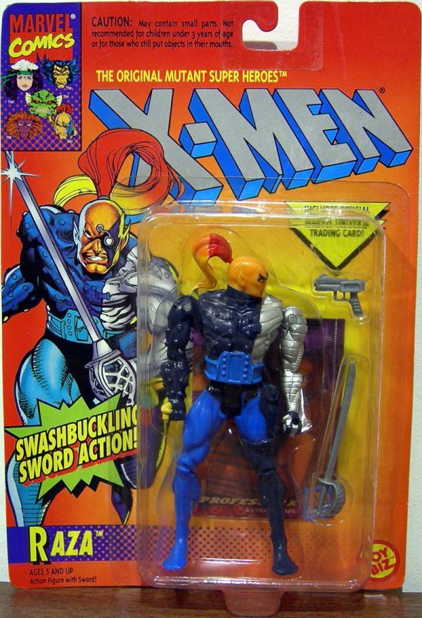 Raza Figure X-Men Swashbuckling Sword Toy Biz