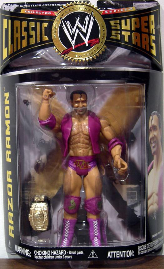 Razor Ramon Series 15 WWE Classic Super Stars action figure