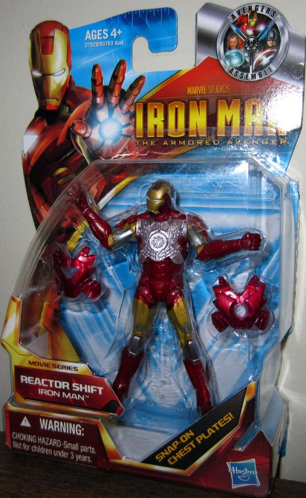 Iron Man Reactor Shift Action Figure Armored Avenger Movie Series 43