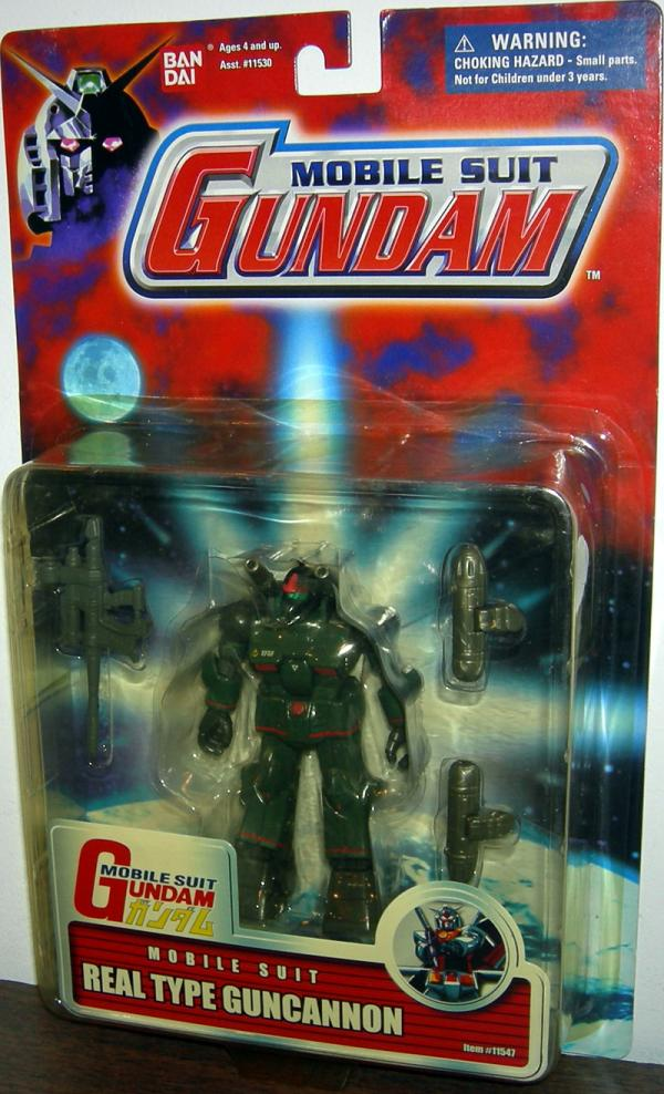 Real Type Guncannon Mobile Suit Gundam action figure