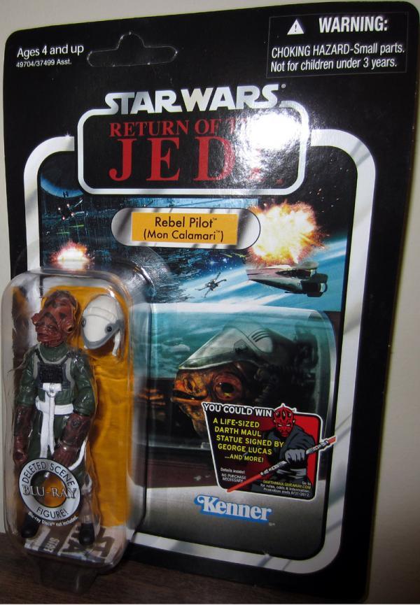 Rebel Pilot Mon Calamari Figure VC91 Star Wars Hasbro