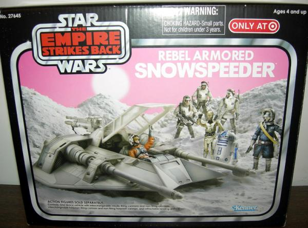 Rebel Armored Snowspeeder Vehicle Target Exclusive