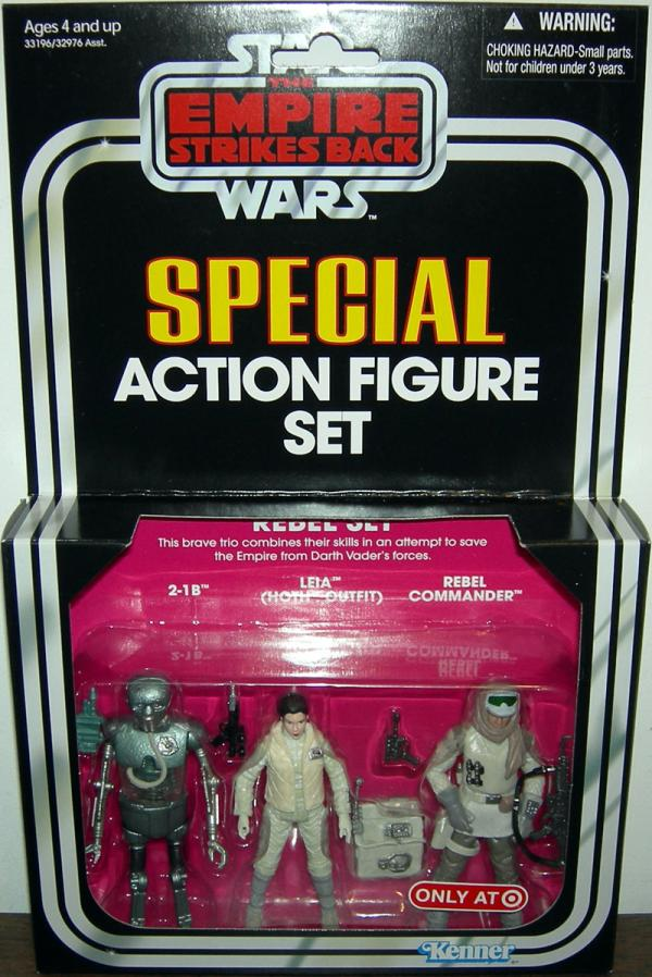 Rebel Set 3-Pack Target Exclusive action figures