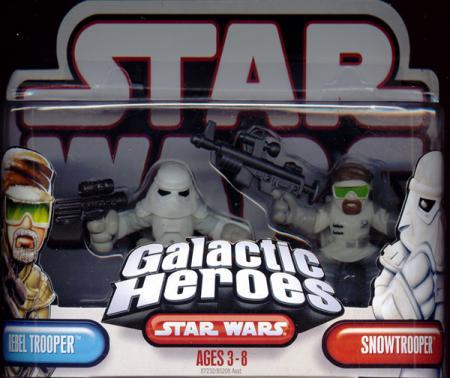 Rebel Trooper Snowtrooper Galactic Heroes