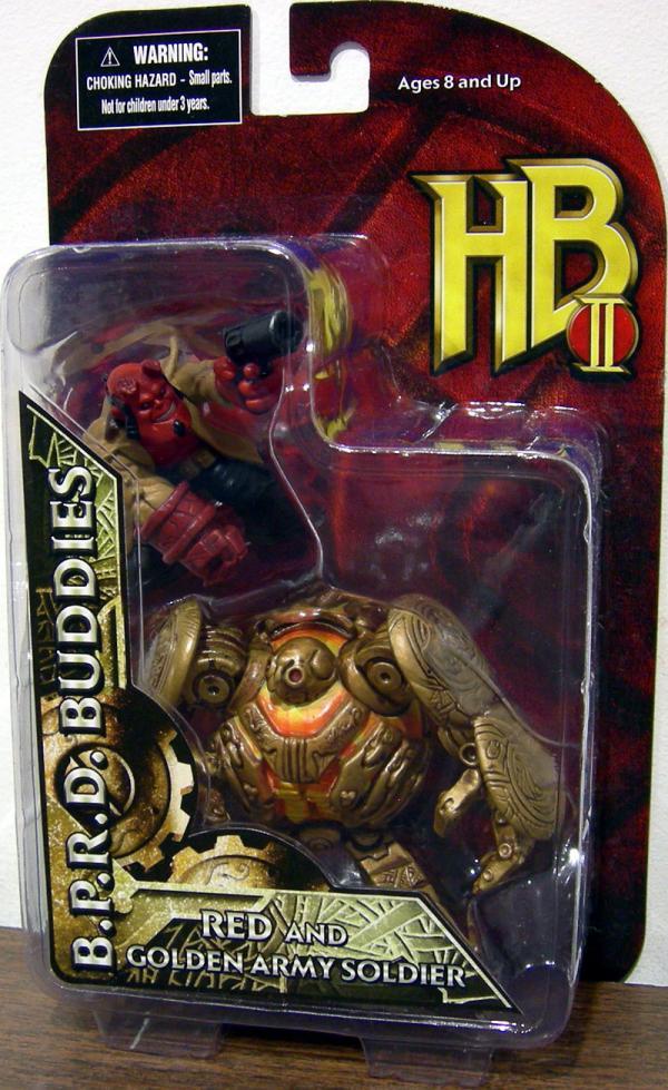 Red Golden Army Soldier BPRD Buddies