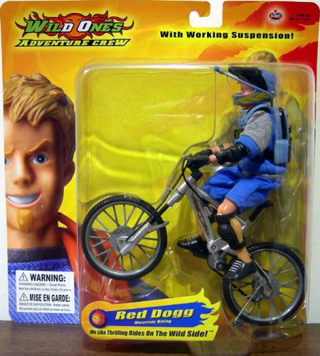 B-Bel Wild Ones Adventure Crew Mountain Biker