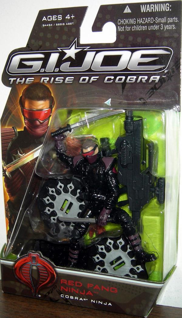 Red Fang Ninja GI Joe Rise Cobra Movie action figure