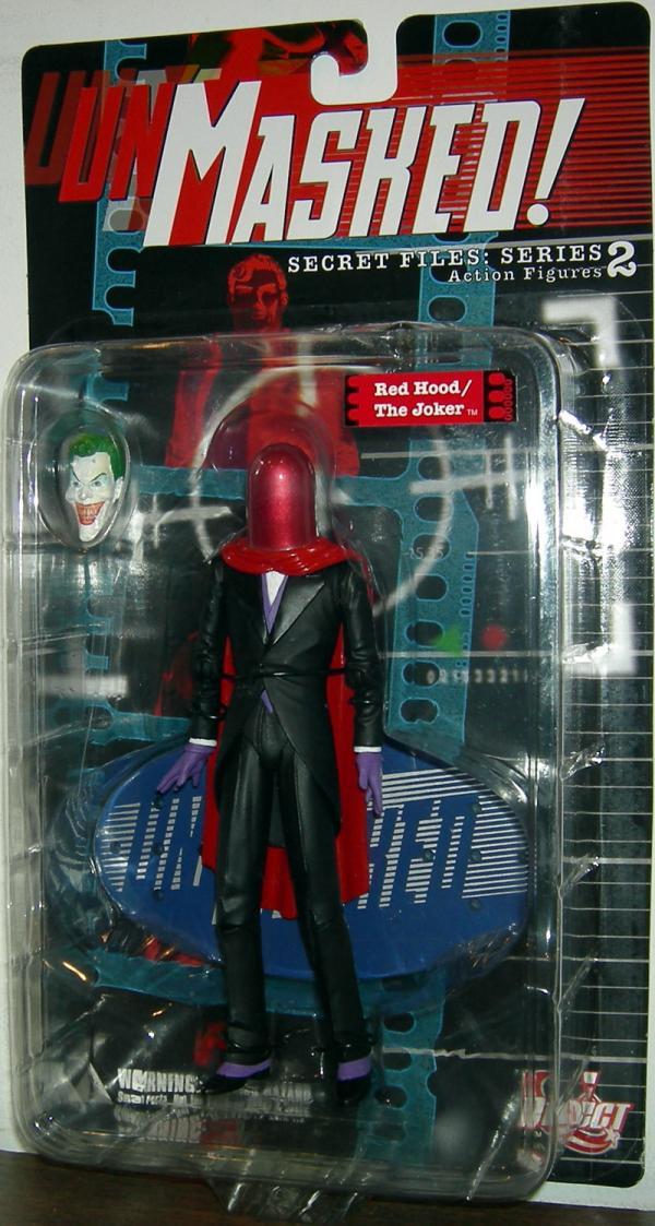 Red Hood Joker Figure Secret Files Unmasked Series 2