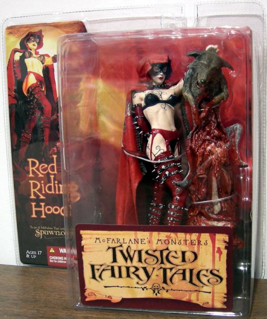 Red Riding Hood Figure Twisted Fairy Tales McFarlane Toys