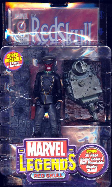 Red Skull Marvel Legends Series V 5 action figure