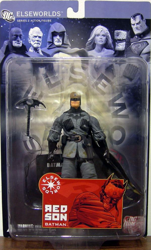 Red Son Batman Action Figure Elseworlds Series 2 DC Direct