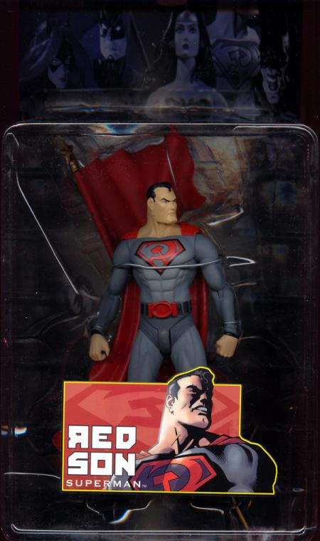 Red Son Superman Elseworlds Series 1 action figure