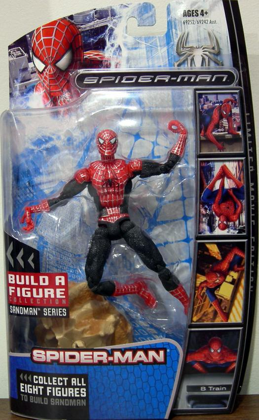Red Spider-Man Sandman Series Action Figure Hasbro
