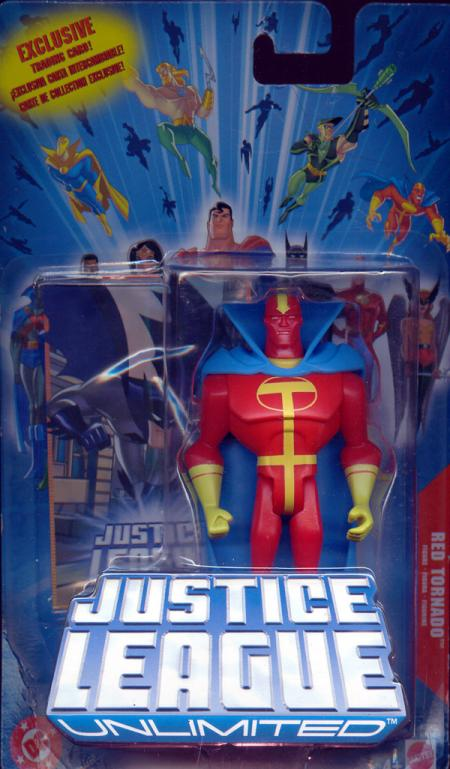 Red Tornado Justice League Unlimited