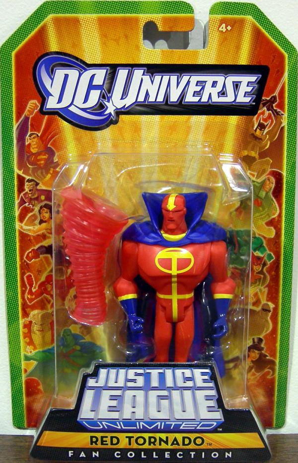 Red Tornado Fan Collection