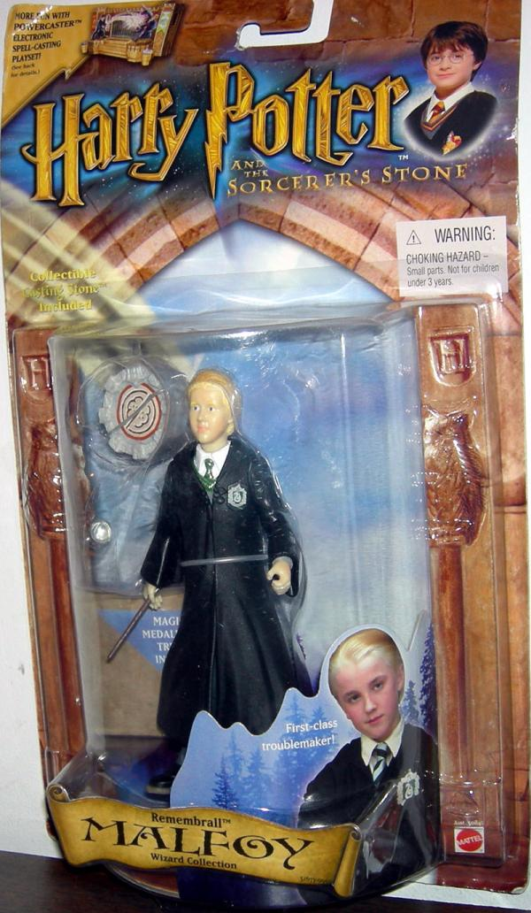 Remembrall Malfoy Action Figure Slytherin Robe Crest Harry Potter