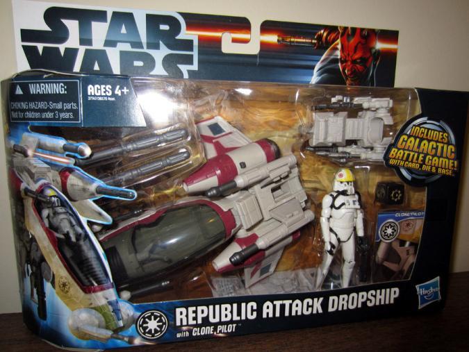 Republic Attack Dropship Clone Pilot action figure