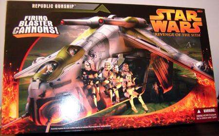 Republic Gunship Vehicle Star Wars Revenge Sith