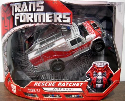Rescue Ratchet Figure Movie Voyager Transformers