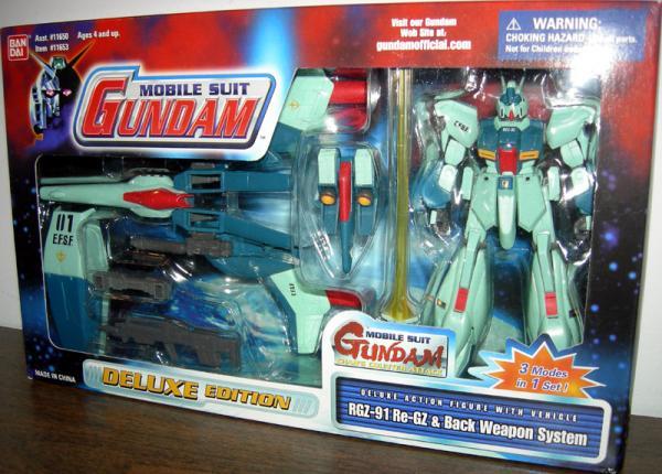 RGZ-91 Re-GZ Back Weapon System Mobile Suit Gundam action figure