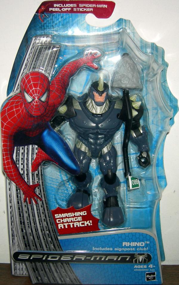 Rhino Spider-Man 3 video game, repaint