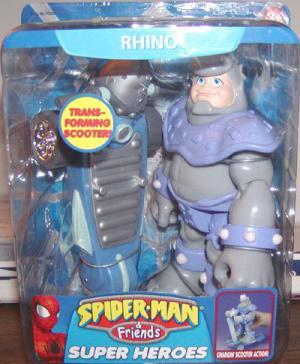 Rhino Spider-Man Friends