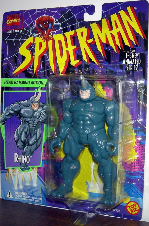 Rhino Spider-Man Animated action figure Toy Biz