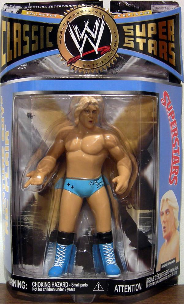Nature Boy Ric Flair Series 18 Action Figure WWE Classic Super Stars