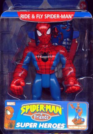 Ride Fly Spider-Man